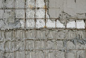 Reinforced concrete walls within the styrofoam — Stock Photo