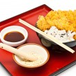 Japanese food style — Stock Photo