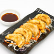 Fried Dumplings Chinese Style Cuisine — Stock Photo