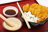 Estilo de comida japonesa — Foto de Stock
