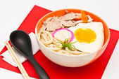 Ramen noodles , japanese food — Stock Photo