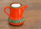 Bollitore tè rosso — Foto Stock