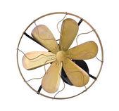 Brass vintage electric fan — Foto Stock
