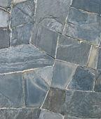 Pattern of Slate Stone wall — Stockfoto