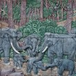 Stock Photo: Elephant Thai stucco