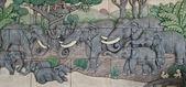 Elephant Thai stucco — ストック写真