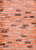 Pattern of red brick wall surface — Stock Photo