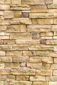 Pattern of stone wall surface — Stockfoto