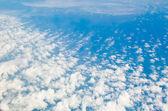 Visa av ett moln — Stockfoto