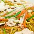 Stock Photo: Rat-na,Yellow noodle and pork
