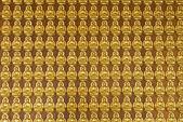 Buddha temple wall in Wat-Leng-Noei-Yi2 — Stock Photo
