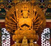 Buddha statue in Wat-Leng-Noei-Yi2 at Thailand — Stock Photo