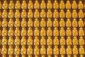 Muro del templo de Buda en wat-leng-noei-yi2 — Foto de Stock