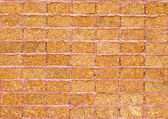Pattern of laterite stone wall surface — Foto de Stock