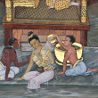 Masterpiece of traditional Thai style painting art — Stock Photo #35280289