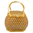 Stock Photo: Bamboo bag