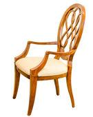 современный стиль деревянный стул — Стоковое фото