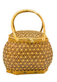Bamboo bag — Stock Photo
