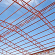 Steel roof trusses — Stock Photo #35294487