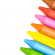 Stock Photo: Wax crayons