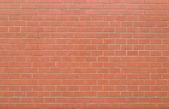 Rött tegel vägg konsistens — Stockfoto