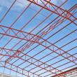 Steel roof trusses — Stock Photo #35351827