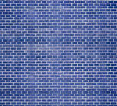 Decorative red brick wall — Foto Stock