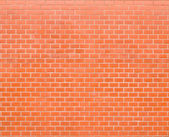 Decorative red brick wall surface — Stock Photo
