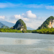 Kanab Nam Cliffs in Krabi at day — Stock Photo