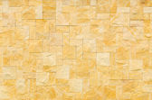 Pattern color of modern style design decorative real stone wall — Stock Photo