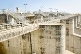 Concrete dam — Stock Photo