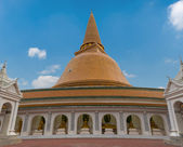 Wat Phra Pathom Chedi stupa — Stock Photo
