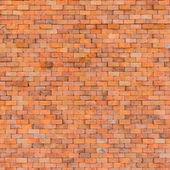 Decorative red brick wall texture — 图库照片