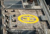 вертолетная площадка — Стоковое фото