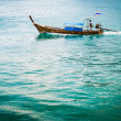 Long tailed boat at Phiphi island — Stock Photo #37973083