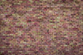 Decorative dirty red brick wall texture — Stock Photo