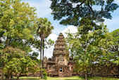 Historic Prasat Hin Phimai Castle at Nakhon Ratchasima, Thailand — Stock Photo