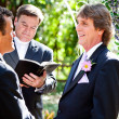 Gay Marriage - Expression of Love - Stock Photo
