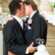 You May Kiss the Groom - Stock Photo