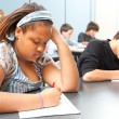 Stock Photo: Diverse Students - Objective Testing