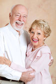 Senior Couple Happily Married — Stock Photo