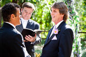 Gay Marriage - Expression of Love — Stock Photo