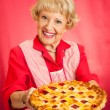 Royalty-Free Stock Photo: Grandmas Homemade Cherry Pie