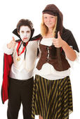 Thumbs Up for Halloween — Stock Photo