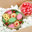 Mail Order Christmas Cookies - 图库照片