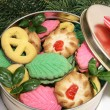 Christmas Cookies Under the Tree - Stock Photo