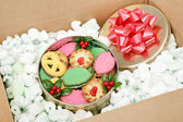 Mail Order Christmas Cookies — Stock Photo