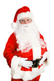 Stock Photo of Friendly Santa Claus — Stock Photo