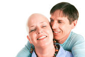 Fighting Cancer Together — Stock Photo