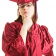 Intellectual Graduate — Foto Stock
